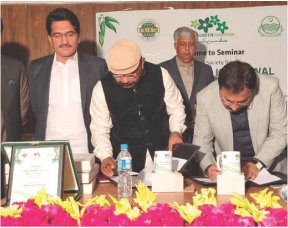 MOU Signed with Dipputy Commisioner Khanewal