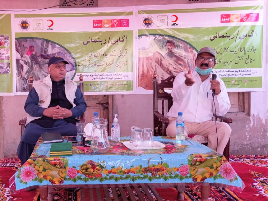 Better Cattle Farming at household Level; A Session at Barkat Project