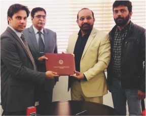 MOU Signed with NIBAF