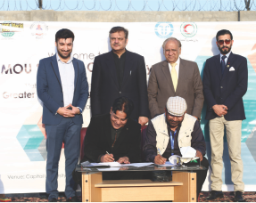MOU Signed with Pakistan Red Cresent