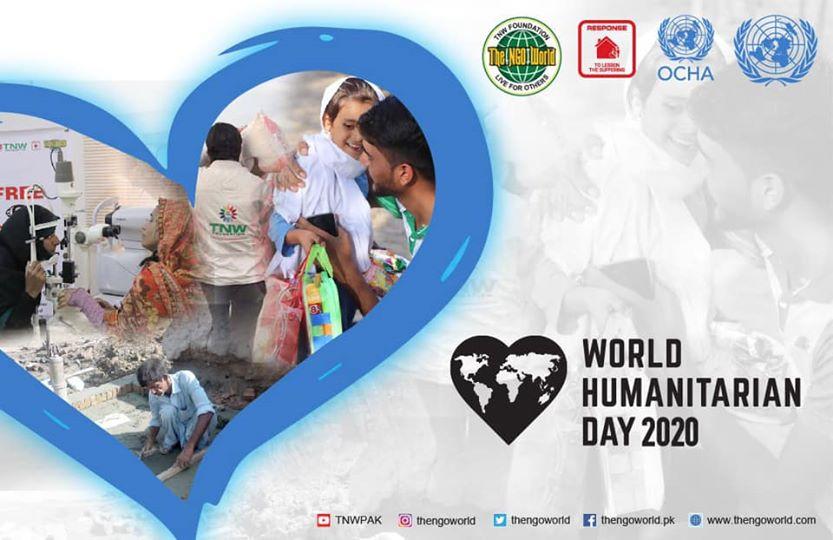 World Humanitarian Day 2020- The NGO World Foundation