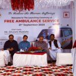 Launching Ceremony of Free Ambulance Service 2- The NGO World Foundation