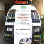 Launching Ceremony of Free Ambulance Service 3- The NGO World Foundation