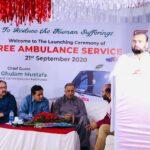 Launching Ceremony of Free Ambulance Service 4- The NGO World Foundation