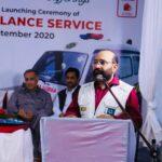 Launching Ceremony of Free Ambulance Service 5- The NGO World Foundation