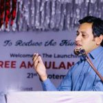 Launching Ceremony of Free Ambulance Service 6- The NGO World Foundation