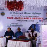 Launching Ceremony of Free Ambulance Service 7- The NGO World Foundation