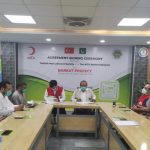 The NGO World signs MOU with TRCS for Poverty Alleviation Project 3- The NGO World Foundation