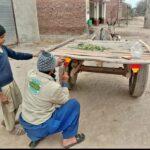 Road Safety Donkey carts and rishaws to get reflectors 5- The NGO World Foundation