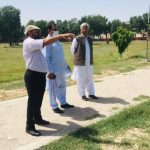 The NGO World will establish a small garden in khanewal 2- The NGO World Foundation