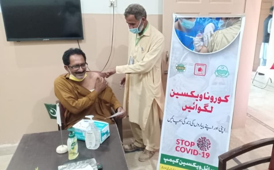COVID-19 Vaccination Camp for Rural Community- The NGO World