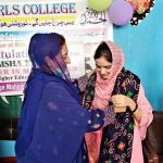 Rimsha Khalil is pride of RIDA for Girls Project 4- The NGO World Foundation